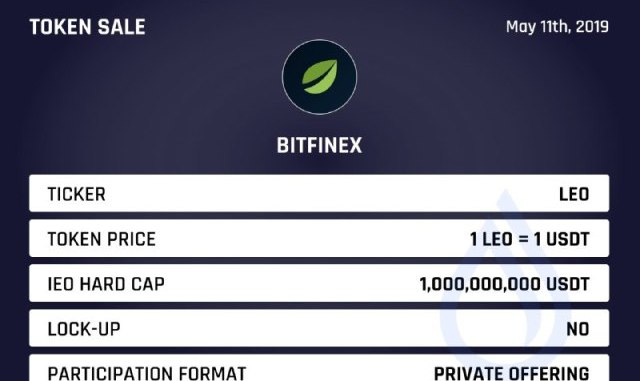 Bitfinex Has Published The Details Of Its Upcoming IEO
