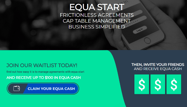 Equastart Airdrop Equa Cash - Earn Up To $100 In Equa Cash