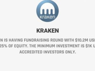 Kraken Is Having Fundraising Round With $10.2 Million Goal For 0.225% Of Equity