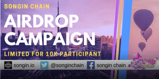 Songin Airdrop SOIN Token - Earn 1,250 SOIN Tokens Free - Worth The $5 - SOIN Can IEO On Gate.io Exchange Soon