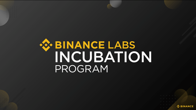 Binance Labs Reveals 13 Startups In Its Incubation Program