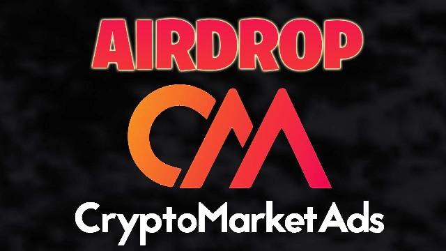 Cryptomarketads Airdrop CMA Token Round 2 - Earn Free 1,300 CMA Tokens - Worth The $13 - IEO On IDAX Exchange
