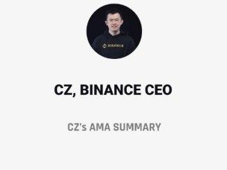 Summary Of CZ's AMA About Binance