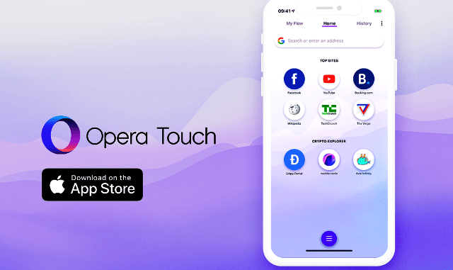 Opera Launches Its Browser For IOS With Web 3 support and Crypto Wallet