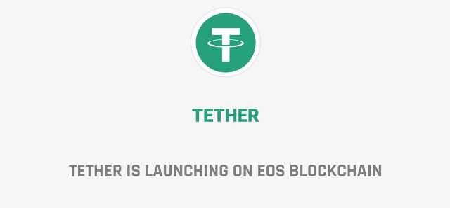 Tether Is Launching On The EOS Blockchain Protocol - Bitfinex CTO