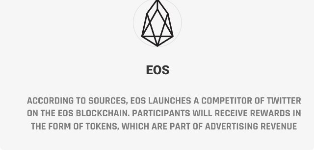 EOS Launches A Competitor Of Twitter On The EOS Blockchain