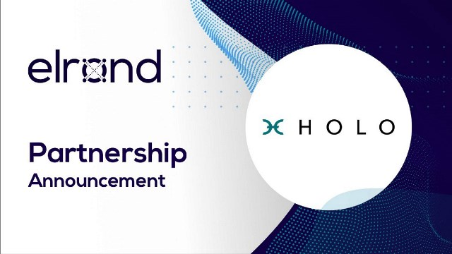 Elrond Has Announced A Partnership With Holo