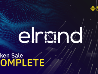 Elrond Has Been Listed On Binance and Binance DEX - Now Trading at x 13x From The IEO Price