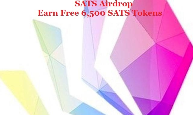 SATS Airdrop Token - Earn Free 6,500 SATS Tokens