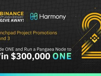 Binance And Harmony Promotion - Trade Harmony (ONE) Or Run A Pangaea Node To Win A Share Of $300,000