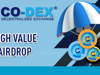 Co-DEX Airdrop COD1 Token - Get $12.5 Of COD1 Tokens Free
