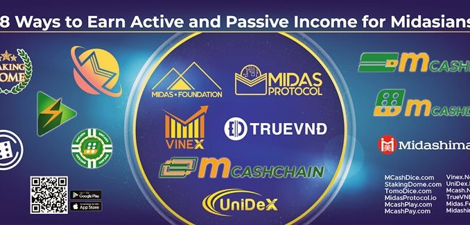 18 Ways To Earn Active And Passive Income With Midas