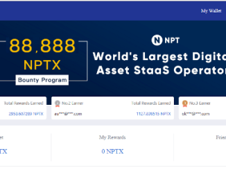 NPT Bounty Program - Earn NPTX Token