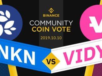 Binance Voting Round 1- NKN vs VIDY - Receive Rewards Of BNB And NKN Or VIDY