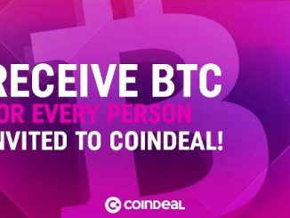 CoinDeal Airdrop Campaign - Earn Bitcoin And CDL Tokens Free