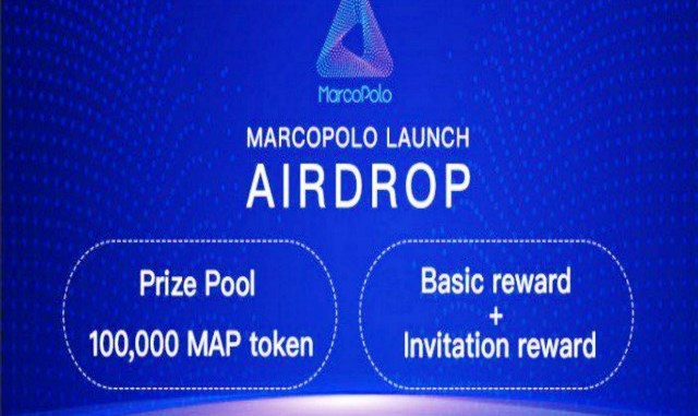 MarcoPolo Airdrop MAP Token - Receive 100 MAP Tokens Free