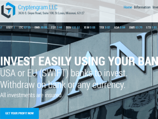 Cryptengram Hyip Review - Earn 1.3% - 3.5% Of Profits Daily - Warning: SCAM