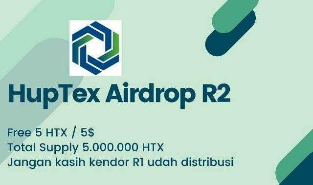 Earn $35 Of Huptex Tokens Free - HTX Airdrop Round 2