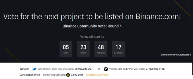 Binance Voting Round 4