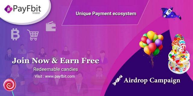 Payfbit Airdrop Candy - Receive 10,000 Candies Free