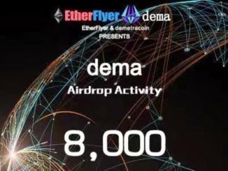 DEMA Airdrop On Etherflyer Exchange - Receive DEMA Token Free