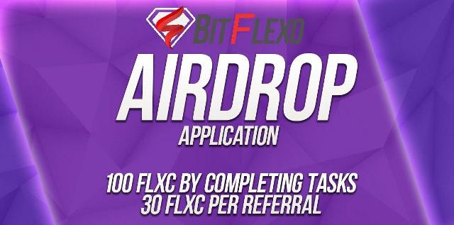 Bitflexo Exchange Airdrop FLXC Coin - Earn $60 Of FLXC Coins Free