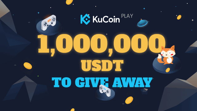 Kucoin Giveaway $1 Million Of USDT On KucoinPlay - Chance To Earn $1,000 And Receive Random $10,000