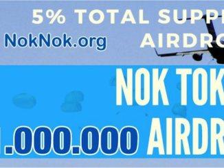 NokNok Airdrop NOK Token - Earn $5 Of NOK Tokens Free