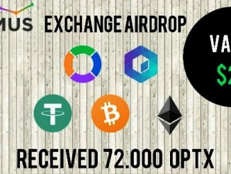 Optimus Exchange Airdrop OPTX Token - Earn $24 Of OPTX Tokens Free