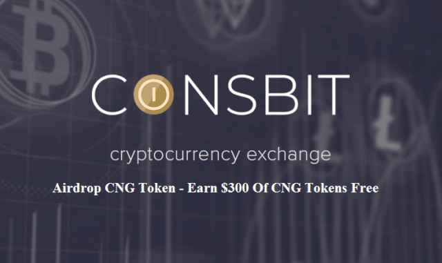 Coinsbit Exchange Airdrop CNG Token - Earn $300 Of CNG Tokens Free - 5 Levels Reward Of Referral