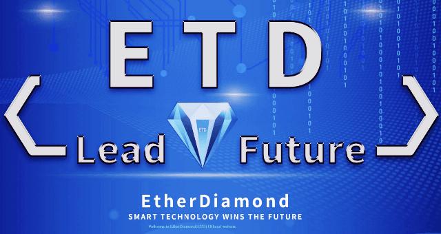EtherDiamond Airdrop ETD Token - Receive 350 ETD Tokens Free