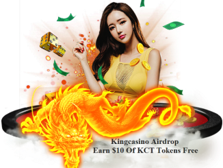 Kingcasino Airdrop KCT Token - Earn $10 Of KCT Tokens Free