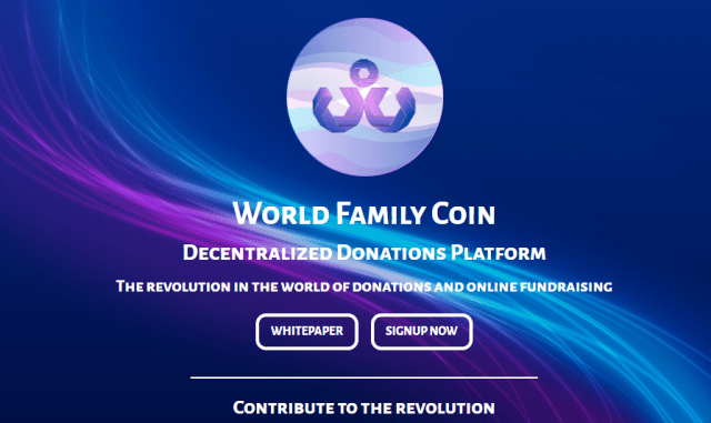 World Family Coin Airdrop WFC - Receive 500 WFC Tokens Free ($12.5)