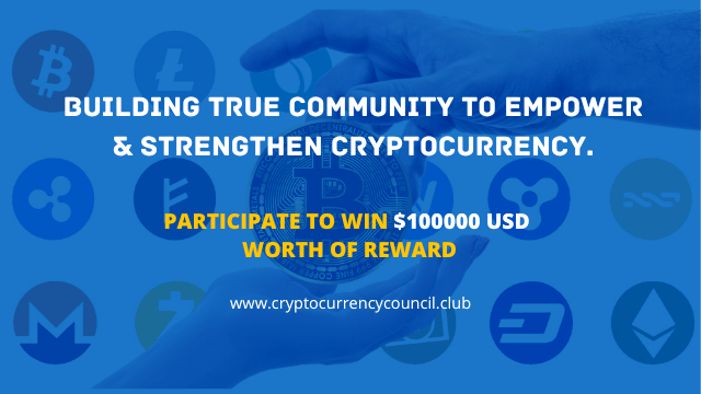 Crypto Currency Council Airdrop - Receive $20 Of Bitcoin Or ETH Free