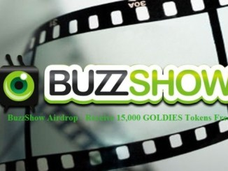 BuzzShow Airdrop GOLDIES Token - Receive 15,000 GOLDIES Tokens Free