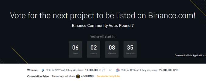 Binance Voting Round 7
