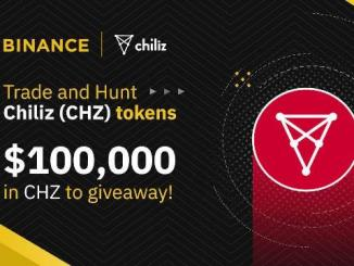 Binance And Chiliz Airdrop & Bounty - $100,000 In CHZ Tokens To Giveaway