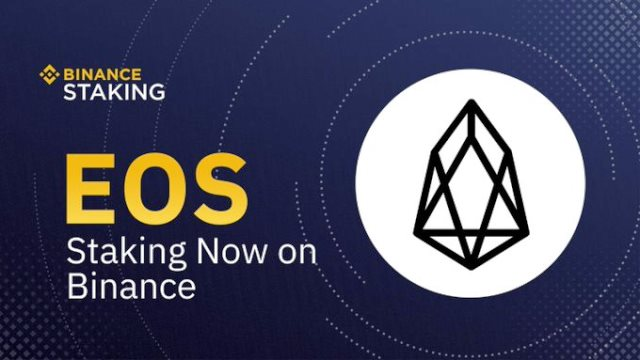 Binance Supported EOS Staking - Hold EOS To Earn Rewards