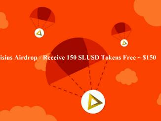 Silisius Airdrop SLUSD Token - Receive 150 SLUSD Tokens Free ~ $150