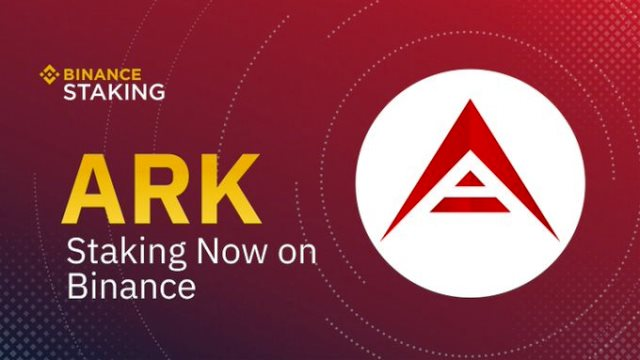 Binance Supported ARK Staking - Hold ARK To Earn Rewards