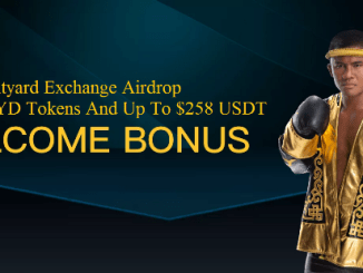 Bityard Exchange Airdrop BYD Token And USDT - Receive 6 BYD Tokens And Up To $258 USDT Free