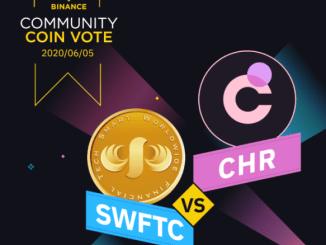 Binance Voting Round 8 - SWFTC vs CHR - Receive Rewards Of BNB And SWFTC Or CHR