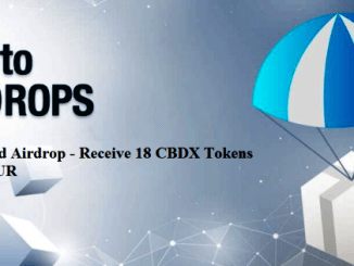 CryptoBoard Airdrop CBDX Token - Receive 18 CBDX Tokens Free ~ 21 EUR