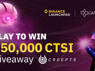Binance And Cartesi Airdrop CTSI Token - Earn Up To $5,000 Of CTSI Tokens Free