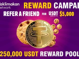 Taklimakan Airdrop $250K USDT - Receive Rewards Up To $5,000 USDT Free - 5 Levels Referral Reward