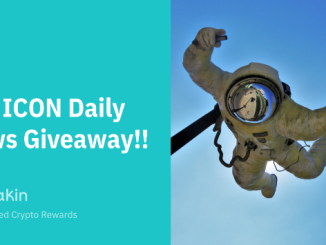 Stakin Airdrop ICON (ICX) - ICON Daily News Giveaways 500 ICX
