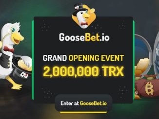 GooseBet Airdrop - Earn 1,000 TRX Tokens Free