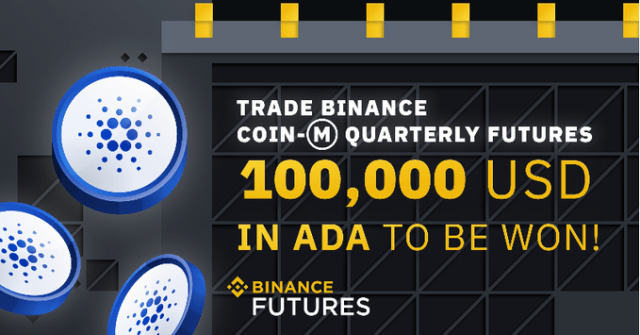 Binance Quarterly Futures Trading Competition - Win $100,000 In ADA