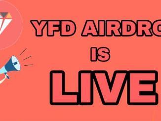 YFDiamond Airdrop - Earn $100 Of YFD Tokens Free