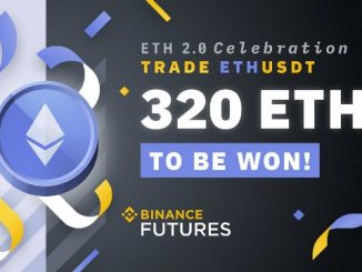 Ethereum 2.0 Trading Competition On Binance - 320 ETH To Be Won